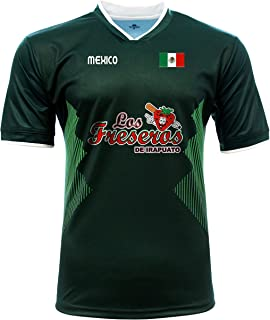 Jersey Mexico Freseros de Irapuato 100% Polyester_Made in Mexico