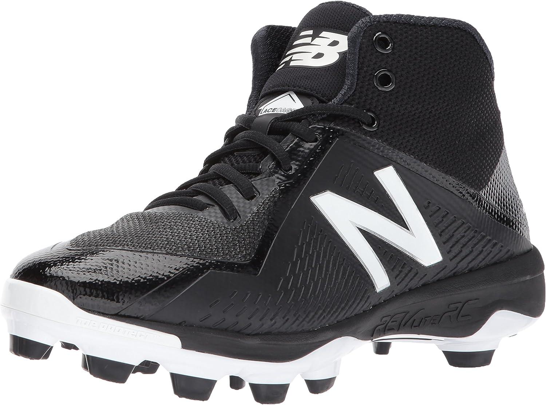 New Balance Men's PM4040v4 Molded Baseball schuhe, schwarz, 11 D US
