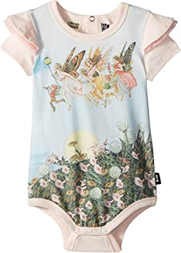 Rock Your Baby - Baby Moonlight Fairies Short Sleeve Bodysuit (Infant)
