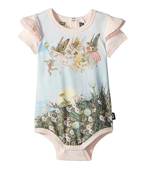 Rock Your Baby Baby Moonlight Fairies Short Sleeve Bodysuit (Infant)