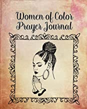 Women of Color Prayer Journal: 60 days of Guided Prompts and Scriptures | Pink Gold | Praying