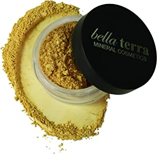 Bella Terra Mineral Powder Foundation | Long-Lasting All-Day Wear | Buildable Sheer to Full Coverage – Matte| Sensitive Skin Approved | Natural SPF 15 (Maple) 9 grams