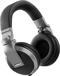 Pioneer HDJ-X5 Circumaural Diadema Plata - Auriculares (Circumaural, Diadema, Alámbrico, 5 - 30000 Hz, 1.2 m, Plata)