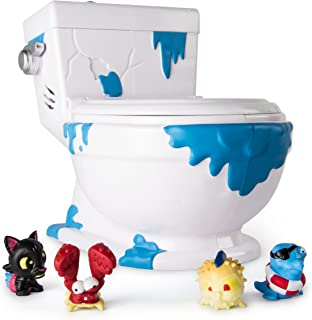 Flush Force – Series 1 - Collect-A-Bowl Stash 'n' Store Case for 4 Exclusive Flushie Figures