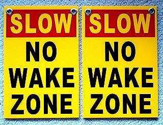 (2) Slow - NO Wake Zone 8