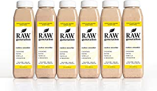 Raw Generation Cashew Smoothie - Healthiest Way to Lose Weight & Stay Strong/Plant-Based Protein Smoothie / 18 Count