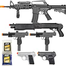 movie prop machine guns