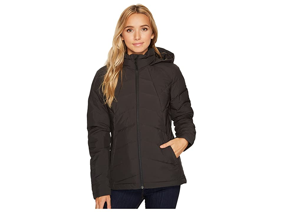 Spyder Syrround Hoodie Down Jacket (Black) Women