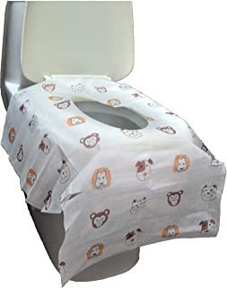 Disposable Toilet Seat Covers - Extra Large Size Perfect for Toddlers Potty Training and Great for Travel Both Kids and Adults (20)