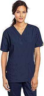 WONDERWINK Women's Scrubs Bravo 5 Pocket V-Neck Top