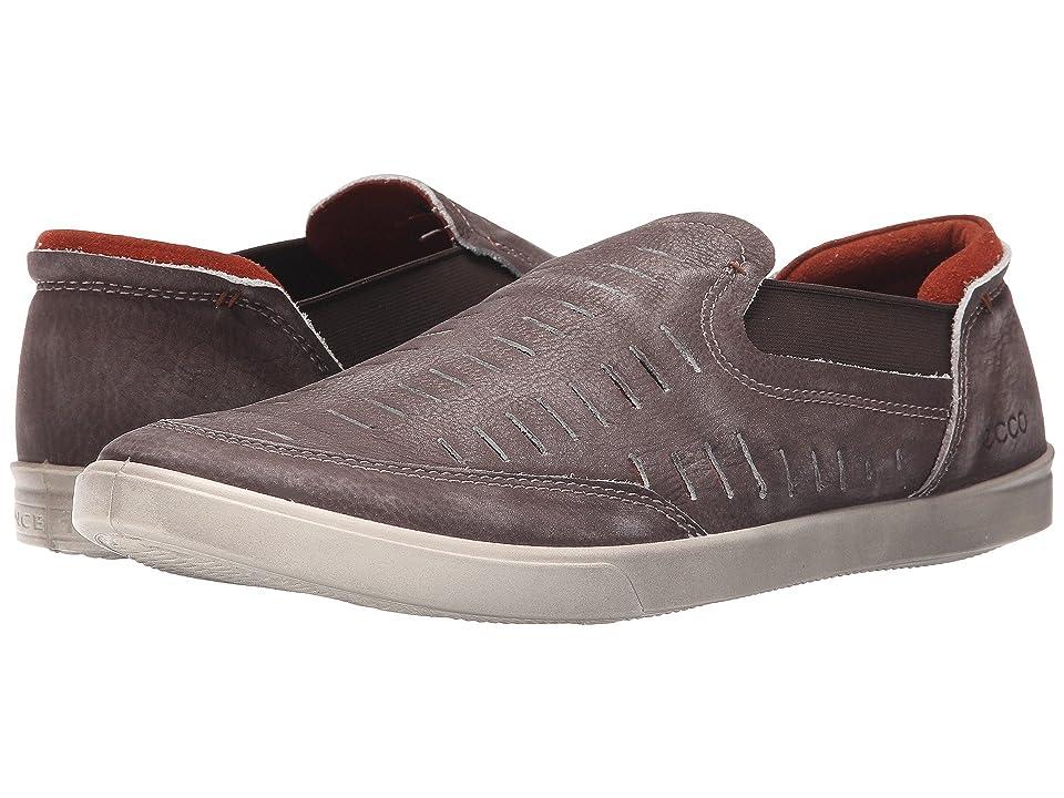 ECCO Collin Trend Loafer (Chestnut Camel Nubuck) Men