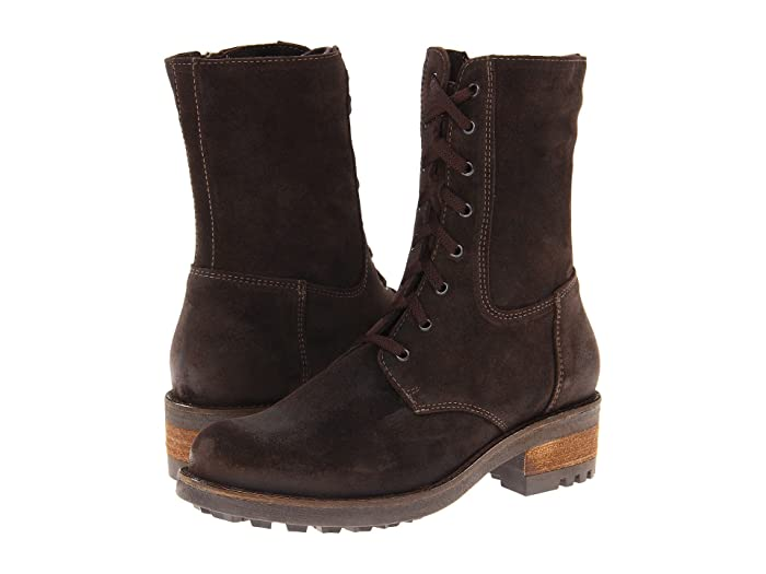 La Canadienne  Carolina (Brown Oiled Suede) Womens Dress Boots