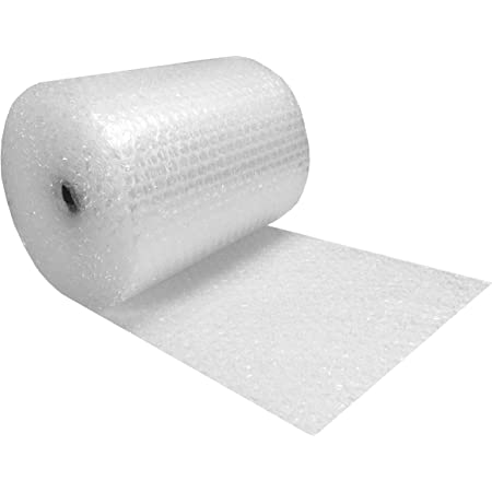 "Amazon Basics Perforated Bubble Cushioning Wrap - Medium 5/16"", 24-Inch x 100-Foot Long Roll"