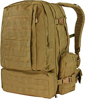 Condor Outdoor Condor 3 Day Assault Pack 125-498, Coyote Brown, One Size