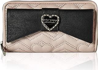 betsey johnson heart wallet