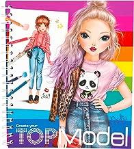 Depesche 5028–Create Your Top Model Colouring Book