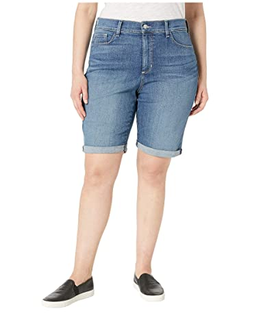NYDJ Plus Size Plus Size Briella Roll Cuff Shorts in Heyburn (Heyburn) Women