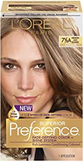 L'Oreal Superior Preference Hair Color [7-1/2A] Medium Ash Blonde (Cooler) 1 Each (Pack of 3)