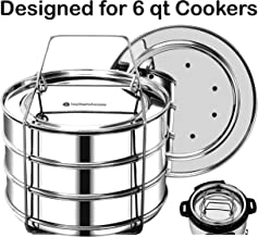 EasyShopForEveryone Stackable Insert Pans, Instant Pot Accessories for 6, 8 Qt Baking,..
