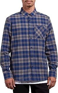 Volcom Men's Caden Classic Flannel Long Sleeve Shirt