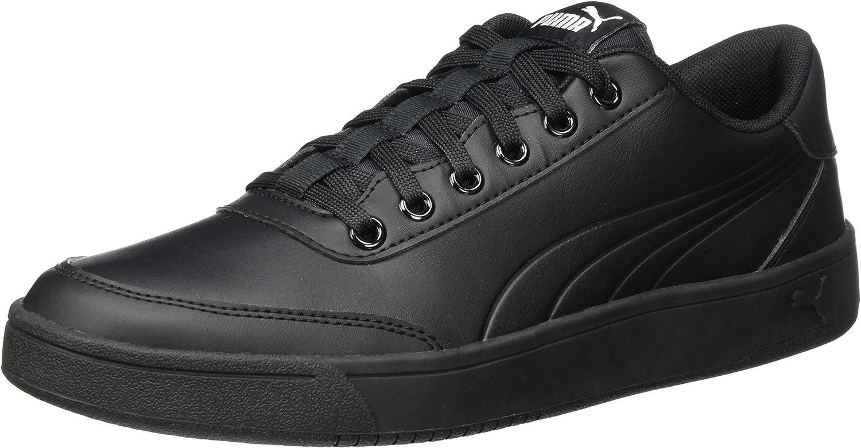 Puma Unisex Adults' Court Breaker L Mono Low-Top Sneakers