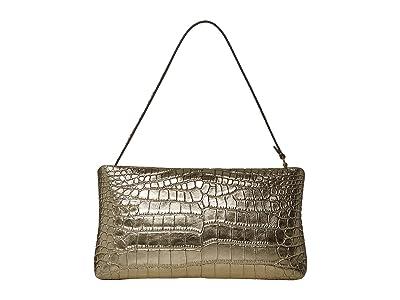 Rebecca Minkoff Zip Clutch (Gold) Clutch Handbags