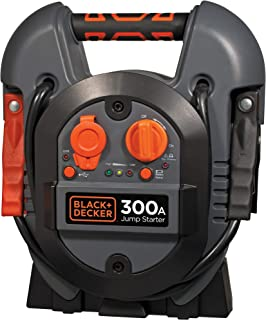 BLACK+DECKER - Jumpstarter J312BE - 12V/ 300A - donkergrijs