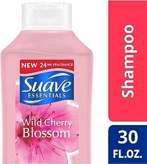 Suave Essentials Shampoo, Wild Cherry Blossom, 30 oz