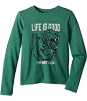 I'm not Lion Crusher T-Shirt Long Sleeve (Little Kids/Big Kids)