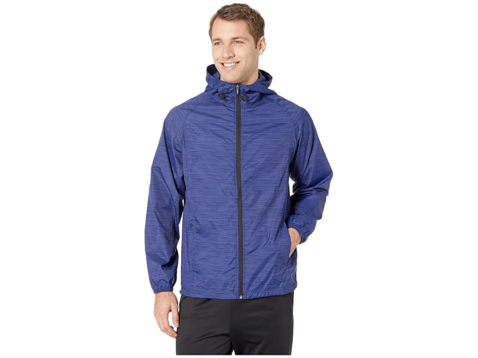 ASICS Packable Jacket (Blue Print) Men