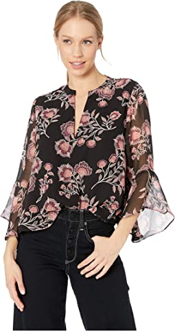 Buy Me Flowers Printed Top