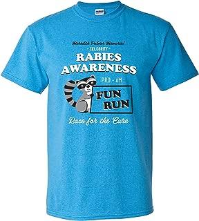 Rabies Awareness Fun Run - Funny TV Comedy Running T Shirt