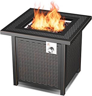 bond galleon gas fire table