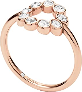 Fossil Women's Rose Gold Ring JF02744791