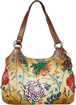 Large Triple Compartment Hobo 652