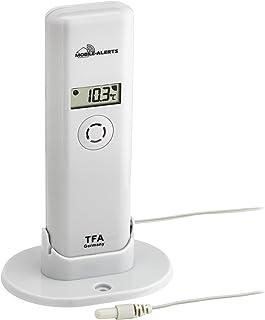 TFA Dostmann Weatherhub - Transmisor de Agua con Sensor de Cable Impermeable, Smart Home, recuperación de Datos a través d...