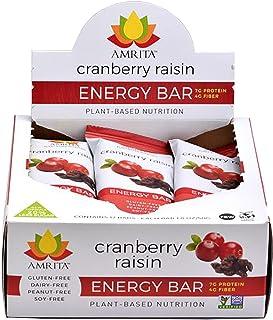 Paleo Energy Bars Allergen Free (Cranberry Raisin)