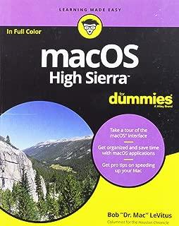 Best macos high sierra for dummies Reviews