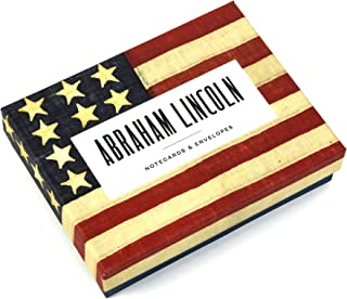 Abraham Lincoln Notecards: 12 Literary Notecards with Envelopes (inspirational quotes from Abraham Lincoln, includes themed envelopes, great gift for ... dads, and grads) (Literary Quote Cards)