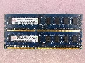 Hynix HMT125U6TFR8C-G7 4GB 2 x 2GB PC3-8500U DDR3 1066 Non-ECC Unbuff Memory Kit