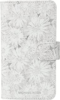 Michael Kors Flower Metallic Phone Cover with Pocket 8