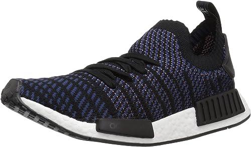 Adidas Originals Wohommes NMD_R1 STLT PK Running chaussures, noir ash rose nobile Indigo, 5.5 M US