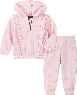Calvin Klein Baby Girls 2 Pieces Jog Set