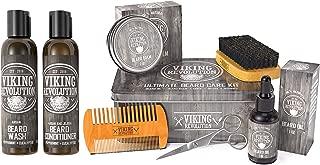 Beard Care Kit Bundled with Beard Shampoo and Conditioner Set (2 items)