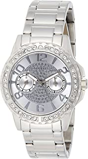 GUESS Sassy Women's Silver Dial Stainless Steel Band Multifunction Watch - W0705L1