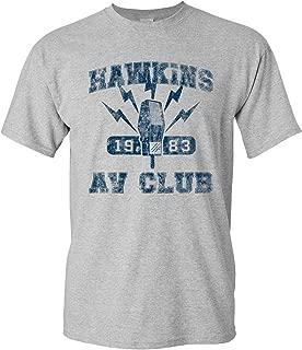 Hawkins AV Club - Vintage 80s TV Show T Shirt