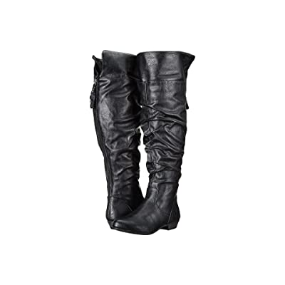 Fergalicious Rookie Wide Calf (Black) Women