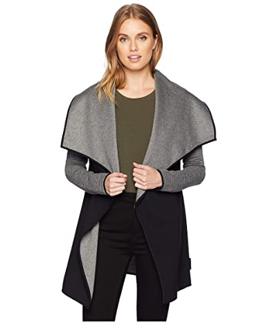 MICHI Dusk Wrap Jacket (Grey/Black) Women