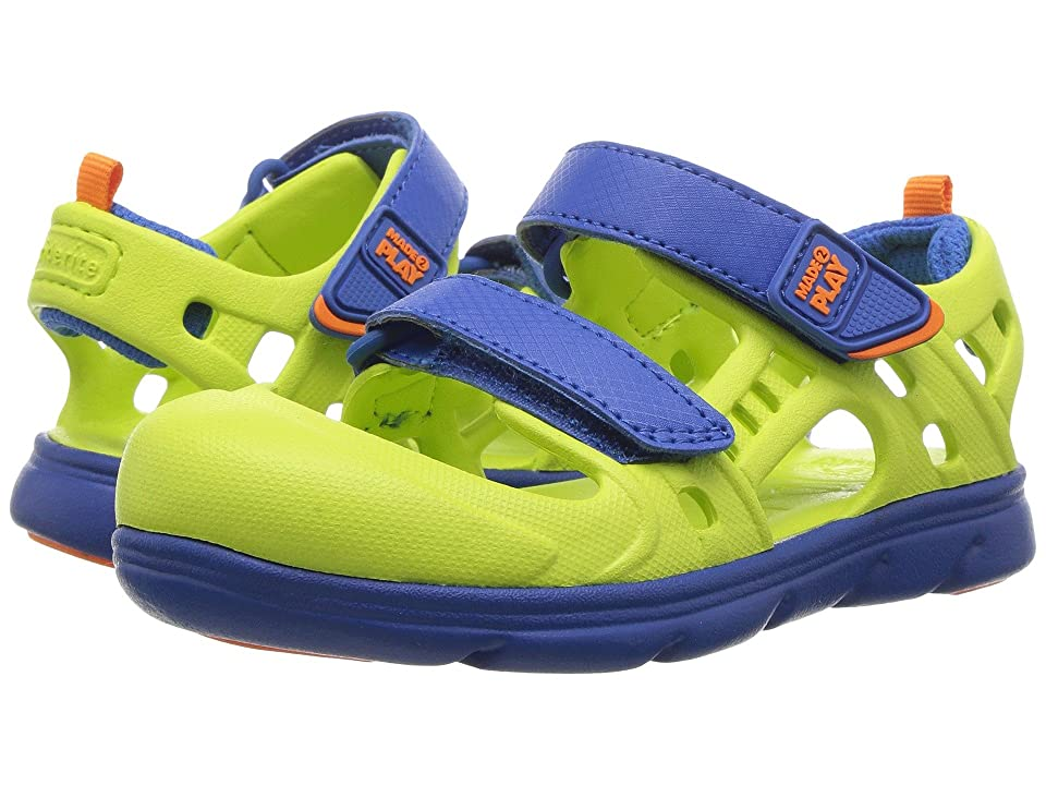 Stride Rite Made 2 Play Phibian (Toddler) (Lime) Boys Shoes