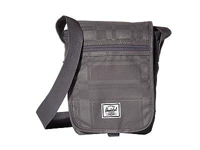Herschel Supply Co. Lane Small (Quiet Shade Plaid) Messenger Bags